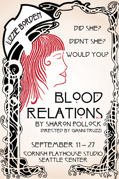 Seattle Theater Sept. Blood Relations Lizzie Borden