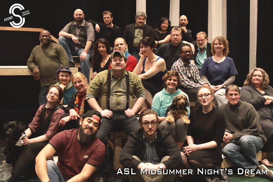 ASL Midsummer Nights Dream Cast STC 2018